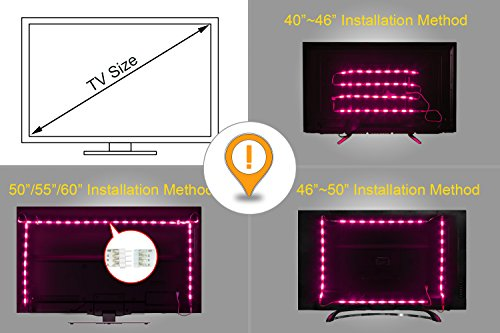 Retro illuminazione a led per tv groupon
